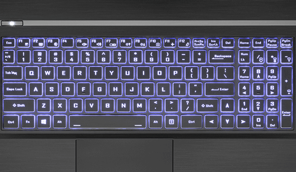 Raptor S77 keyboard