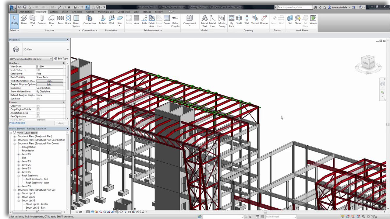 3D Modeling with Revit