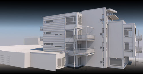 Rendering with archicad
