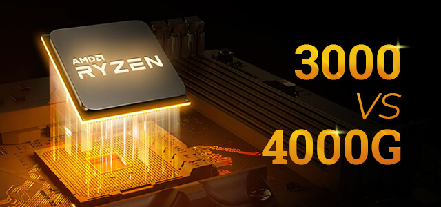 AMD Ryzen 3000 vs Ryzen 4000G
