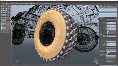 3d modeling with modo