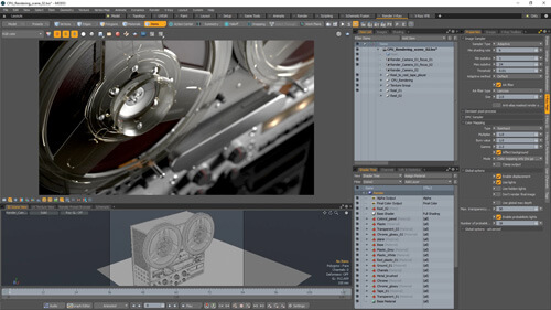 rendering with modo